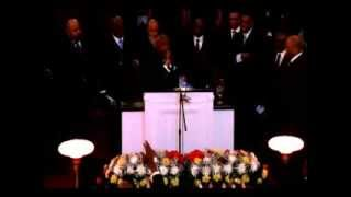 Pastor Mose A. Jones Preaching Father's Funeral