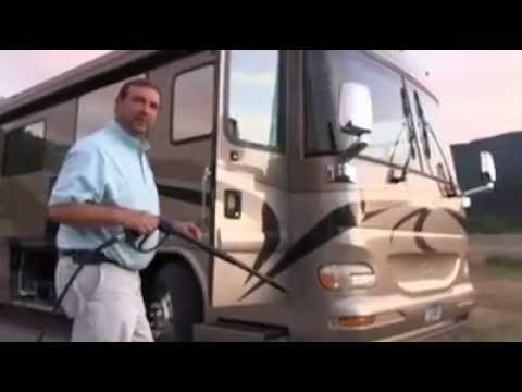 The Road Wave Rv Pressure Washer System Youtube