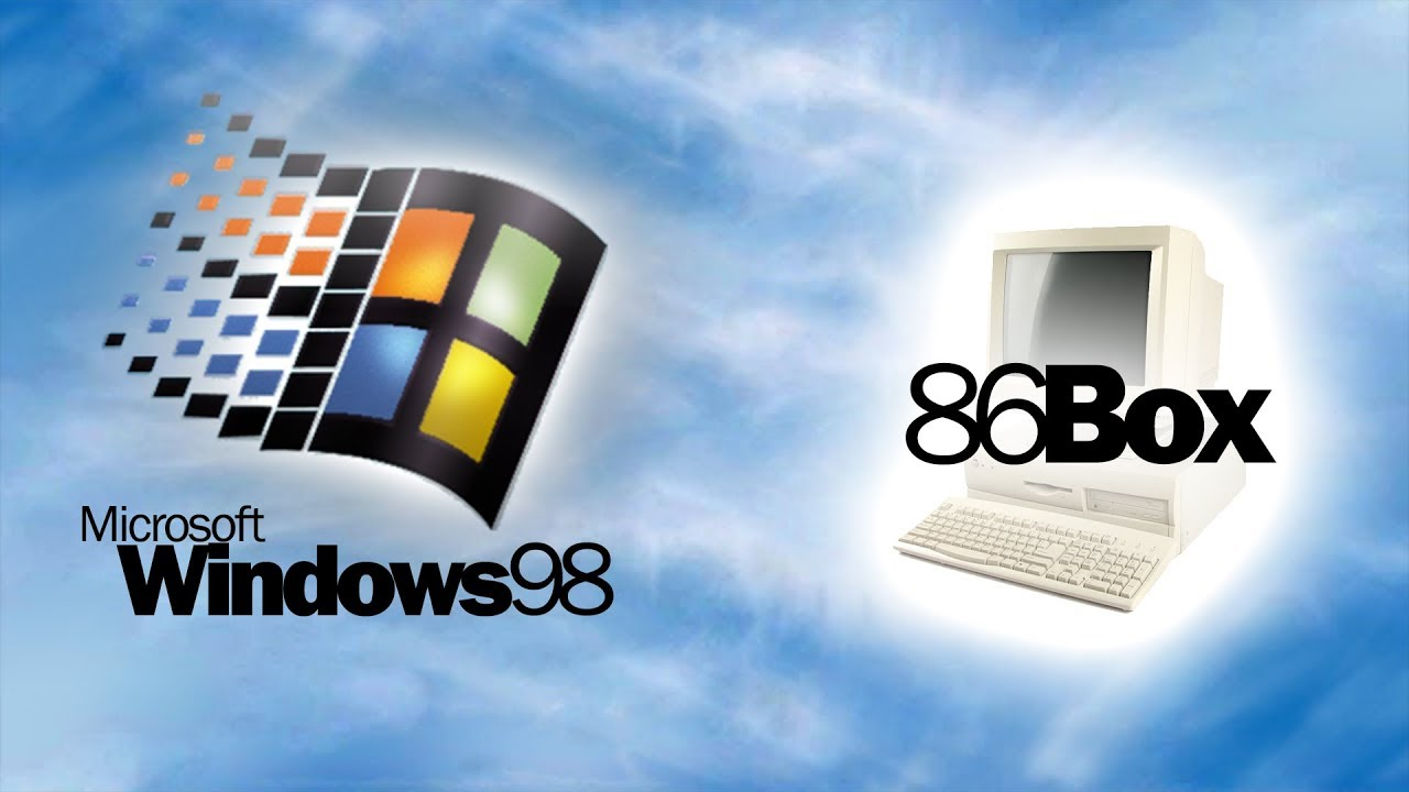 Windows 98 SE running in 86Box 2 0