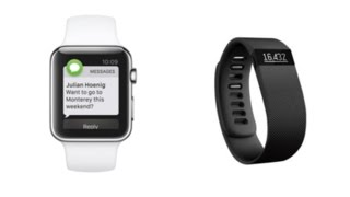 Fitbit Charge HR and Apple Watch Review and Comparison