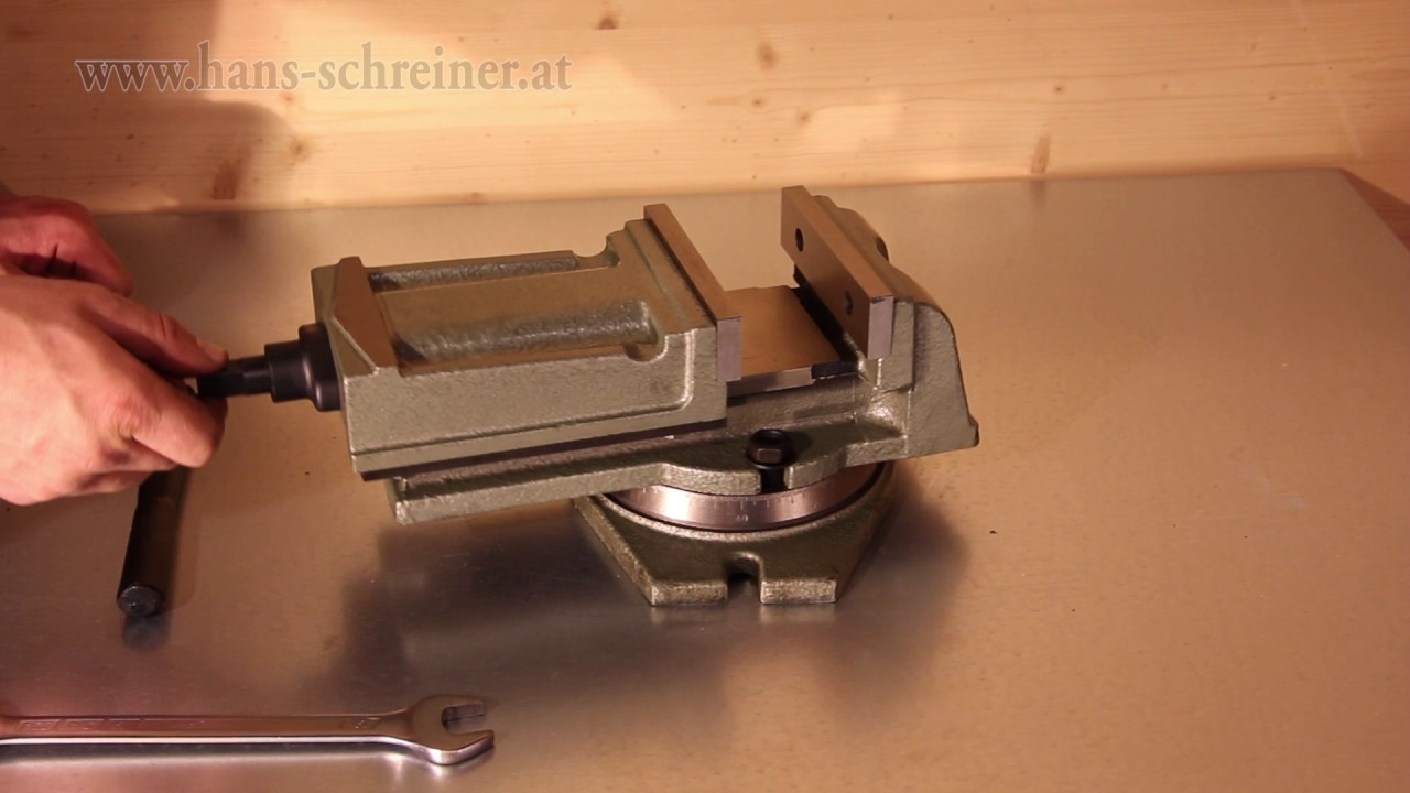 Berühmt Schraubstock für Bohrmaschinen und Fräsmaschinen Serie Z Hans ZB01