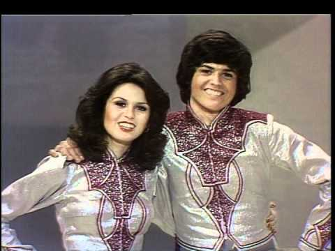 The Donny & Marie Show -- The Opening of the First Show - YouTube