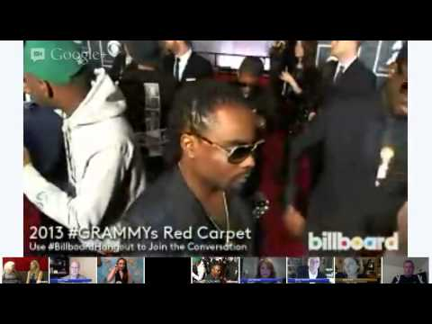 #BillboardHangout LIVE on the GRAMMYs Red Carpet PART 2