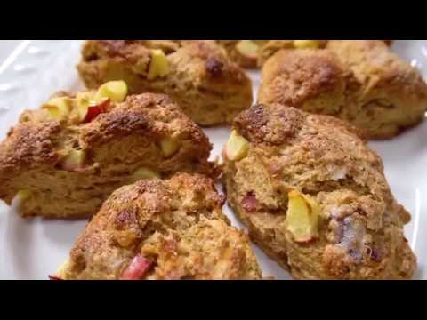 Apple Butter Bacon Scones