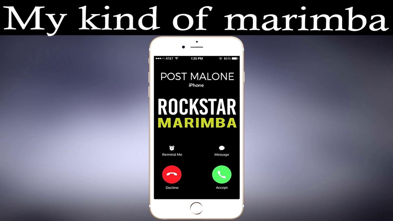 Скачать мелодию iphone marimba mp3
