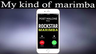 """Enjoy marimba remix of the latest song """"rockstar"""" by post malone feat 21 savage as your ringtone: https://apple.co/3138cla best iphone ringtone latest..."""