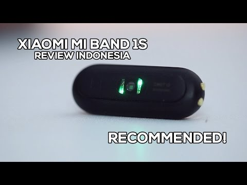 Review Xiaomi Mi Band 1S (Mi Band Pulse) Indonesia