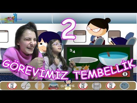 GÖREVİMİZ TEMBELLİK 2 - Bu Oyun 1'den Daha Eğlenceli - Eğlenceli Oyun Videosu - Funny Games