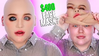 Trying a 400 MASK I m scared NikkieTutorials
