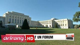 U.S. and N. Korea clash at UN arms forum in Geneva