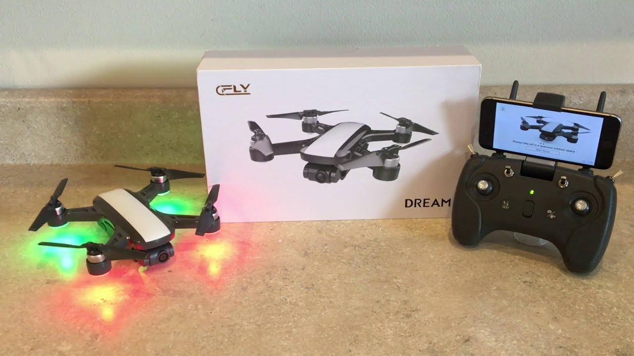 Спарк за 15000!!!? GPS, 2-х осевой подвес, 1080HD и бесщёточные двигатели. C-Fly Dream для Съёмки фотки