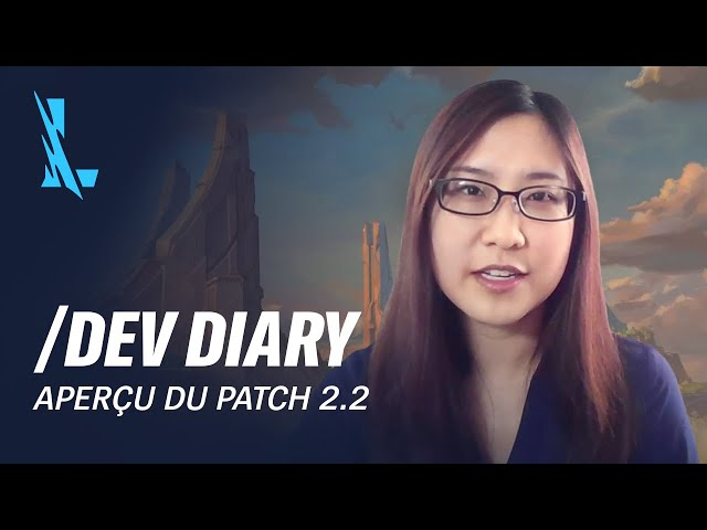 /dev diary : aperçu du patch 2.2 - League of Legends: Wild Rift