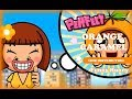 Line Distribution: Orange Caramel - Funny Hunny (Color Coded)
