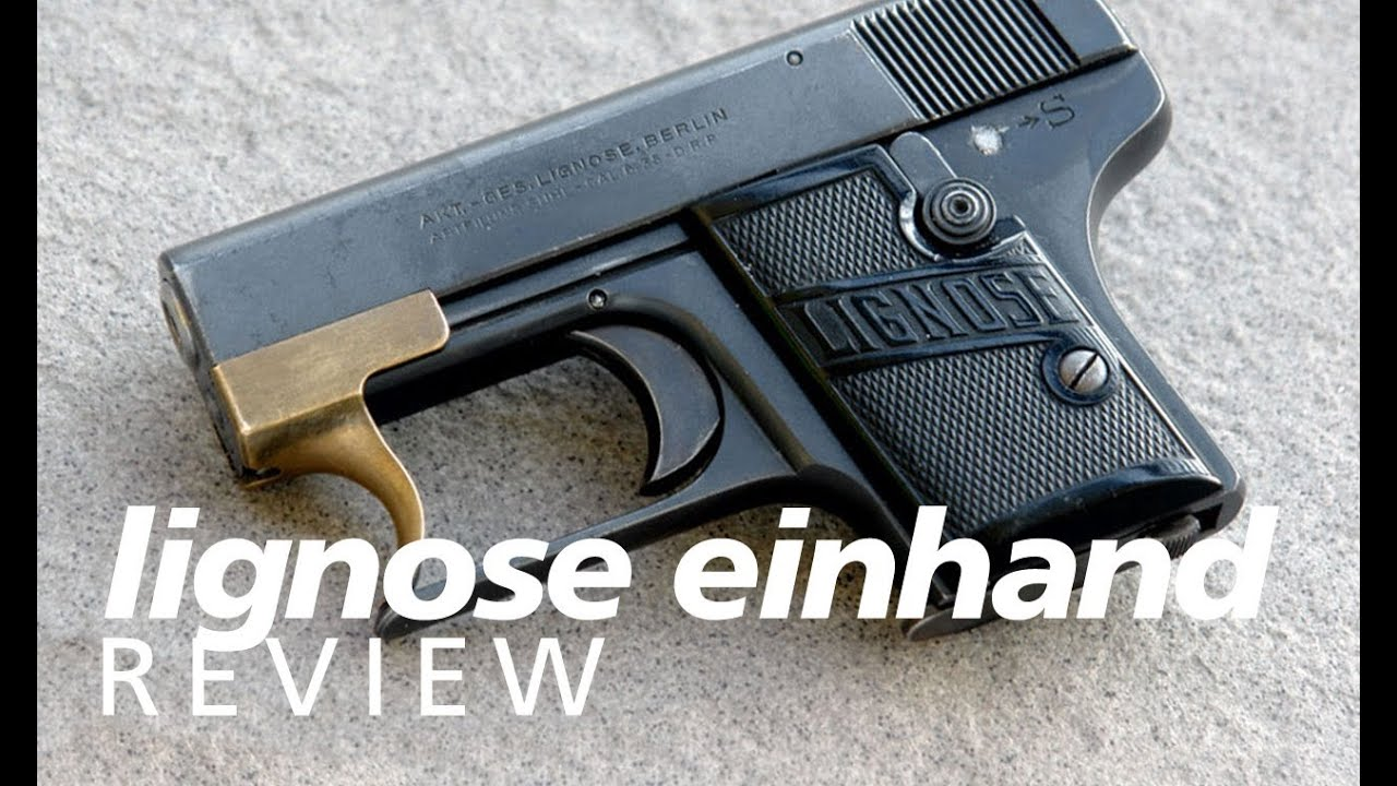 Review: the Lignose Einhand 2A one-hand cocking pocket pistol