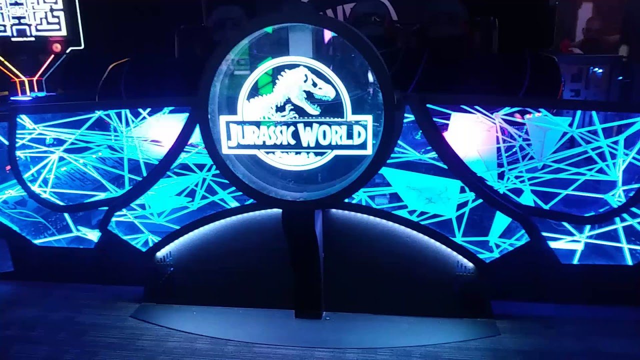 All New Jurassic World Movie Game Vr At Dave And Busters
