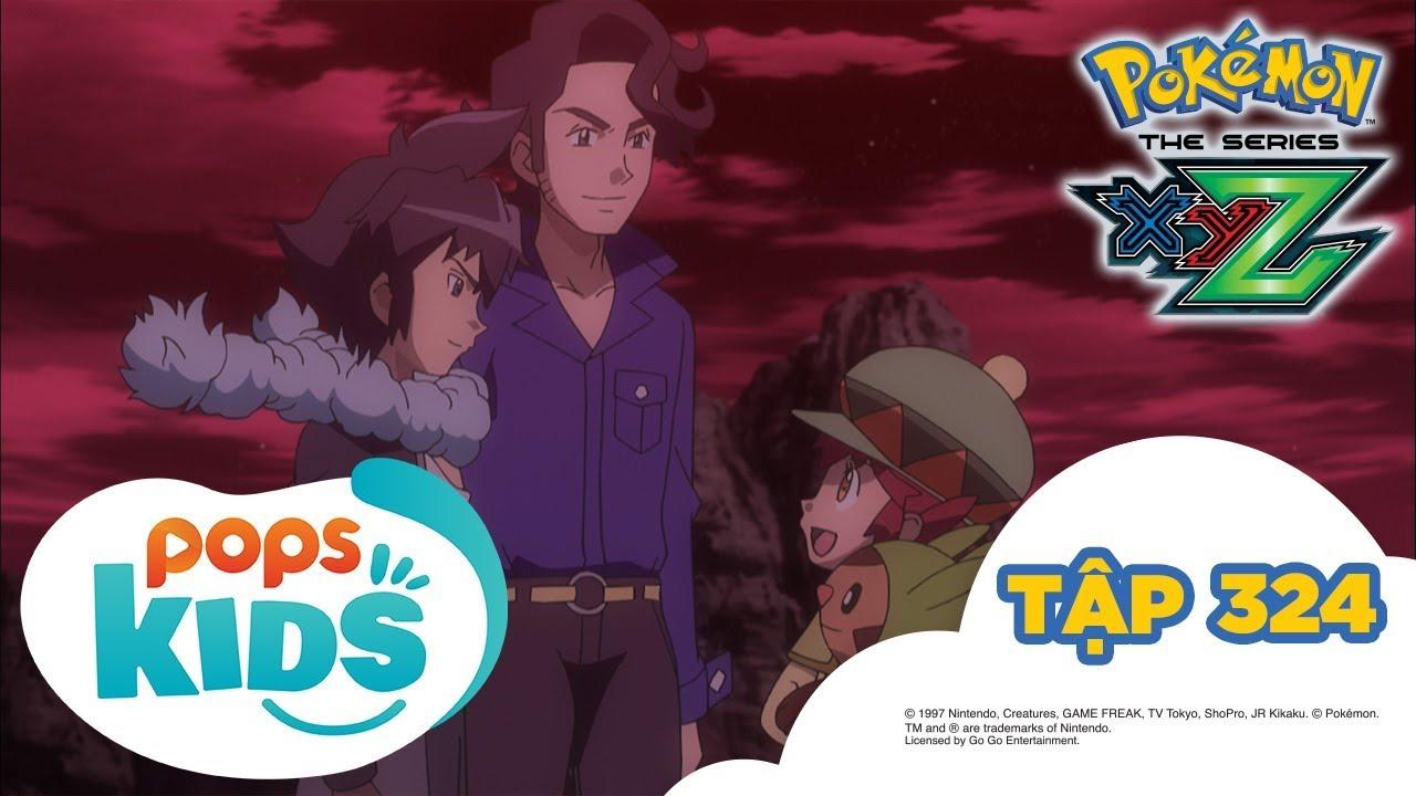 Pokémon Tập 324 – Zygarde phản kích! Trận chiến cuối cùng ở Kalos – Hoạt Hình Pokémon S19 XYZ