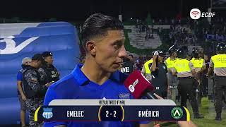 Joao Rojas Mejor Jugador Del Partido Emelec Vs América - Copa Ecuador