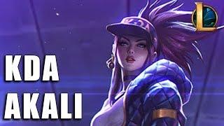 Akali K/DA - League of Legends (Previa)