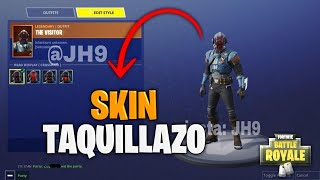 I HAVE THE FREE SKIN OF THE TAQUILLAZO! at FORTNITE Is it cool? That's how skin is for free