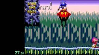 Knuckles Chaotix Speedrun in 45:12 [Current World Record]