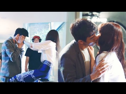 《Making Film》 Kim Rae Won ♥ Park Shin Hye, Romantic kiss scene behind! @The Doctors