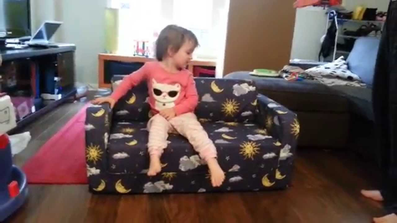Baby bunting flip out sofa