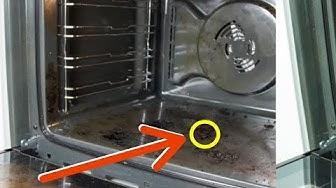 In 5 Minuten wird mit diesem Trick dein Ofen sauber.