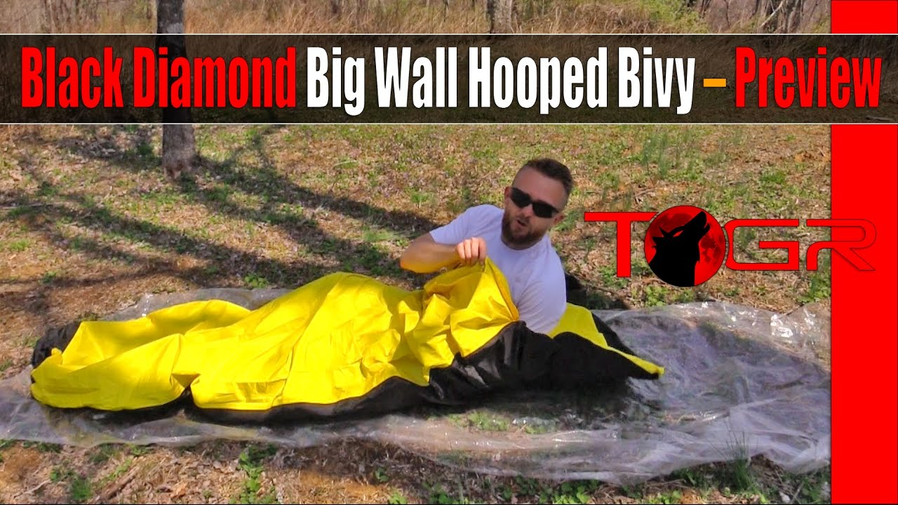 One Of The Best Black Diamond Big Wall Hooped Bivy