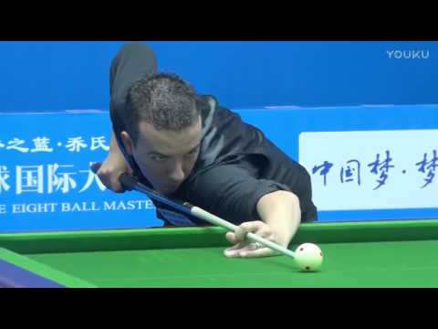 David Alcaide (SPA) VS Wang Haifeng - World Chinese 8 Ball Masters Tour 2017-2018 Stop 2 Lianyungang