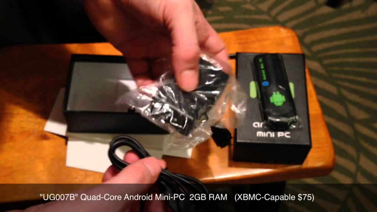 Unboxing - Android Mini-PC