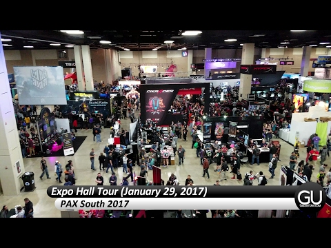 Expo Hall Tour - PAX South 2017