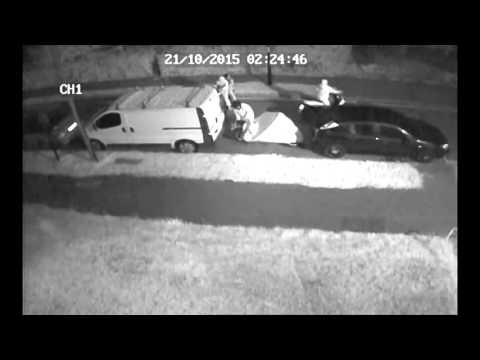 motorbike theft attempt 2 and criminal damage!!!