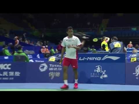 TOTAL BWF Thomas & Uber Cup Finals 2016 | Badminton Day 3/S3-Thomas Cup Grp B- INA vs THA (Court 2)