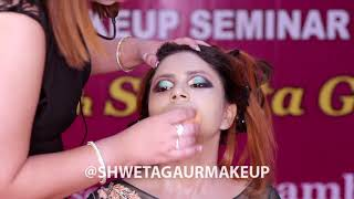 Get Glowing Bridal Look Along With a Perfect Hairdo By Shweta Gaur | Celebrity Make Up Artist