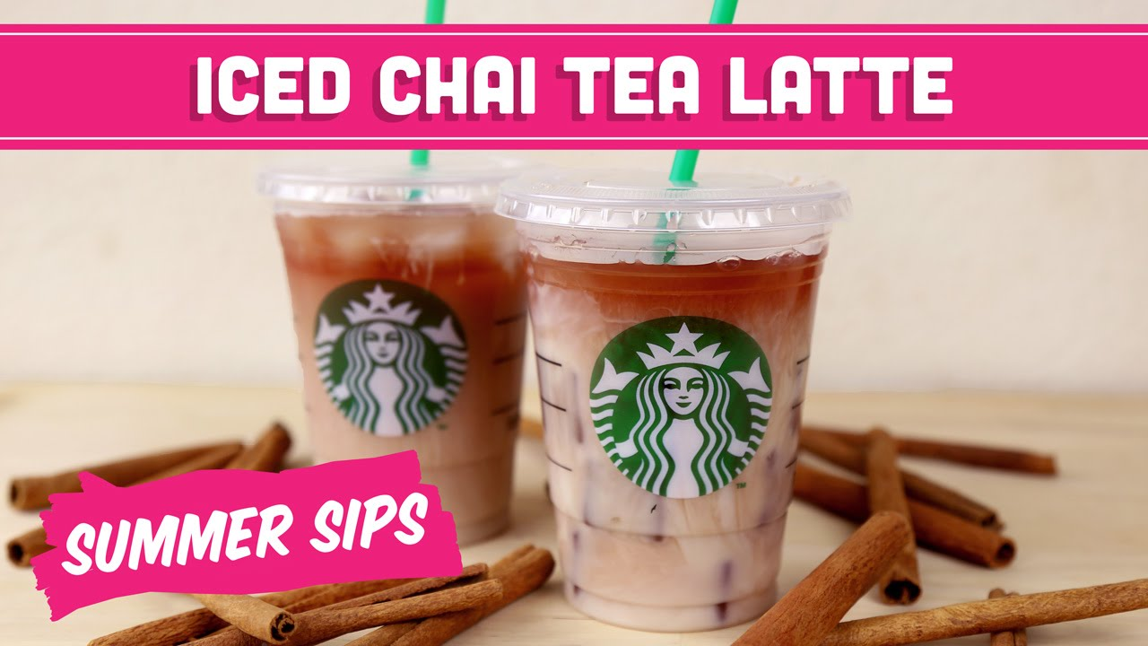Iced Chai Tea Latte Diy Starbucks Summer Sips In Sixty Seconds Mind Over Munch