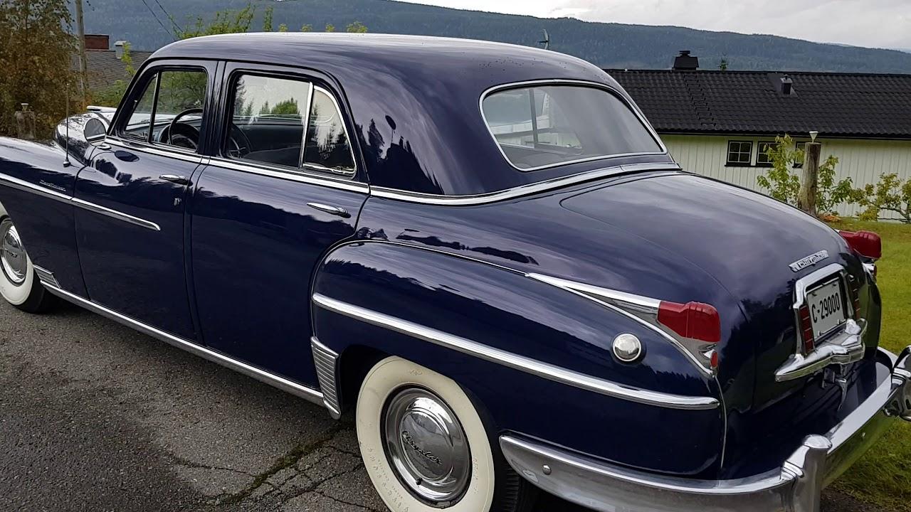 1949 Chrysler New Yorker Sedan - YouTube
