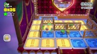 🎪 Super Mario 3D World: 1-5 Switch Scramble Circus (All Stars & Stamp) [Gameplay Walkthrough]