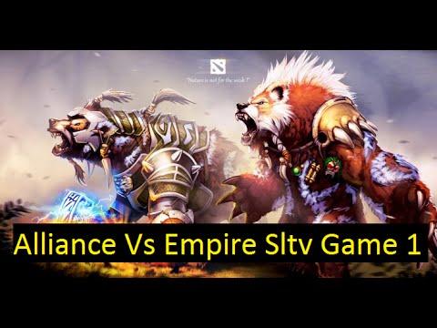 Alliance Vs Team Empire Game 1 Sltv Star Series 13