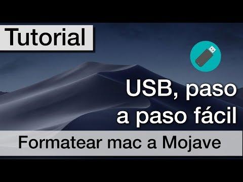 Restaurar tu Mac desde cero a macOS Mojave | Instalación limpia | Formatear mac