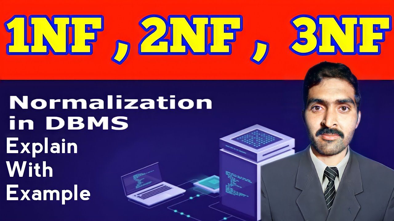 explian normalization 1NF, 2NF and 3NF with example latest ...