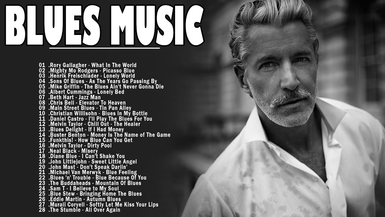 Download Relaxing Blues Music | Greatest Blues Rock Songs Of All Time | Slow Blues / Blues Ballads Music