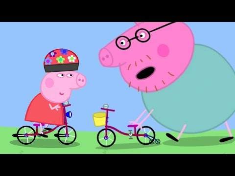 Peppa Pig in Hindi - Daddy Pig Kasrat Kar Rahe Hai - हिंदी Kahaniya - Hindi Cartoons for Kids