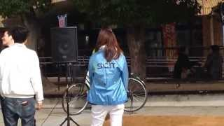 JR吹田駅前広場でのイベントです。 可愛い子がいますね^^