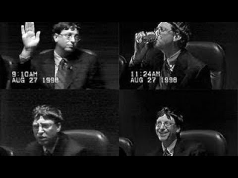 Bill Gates: Microsoft Antitrust Appeal Ruling Reaction (2001) - The Best Documentary Ever