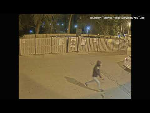 Toronto police release video of area outside of Soares shooting