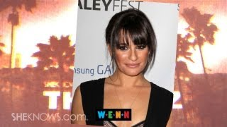 Lea Michele Visits Hotel Where Cory Monteith Died - The Buzz