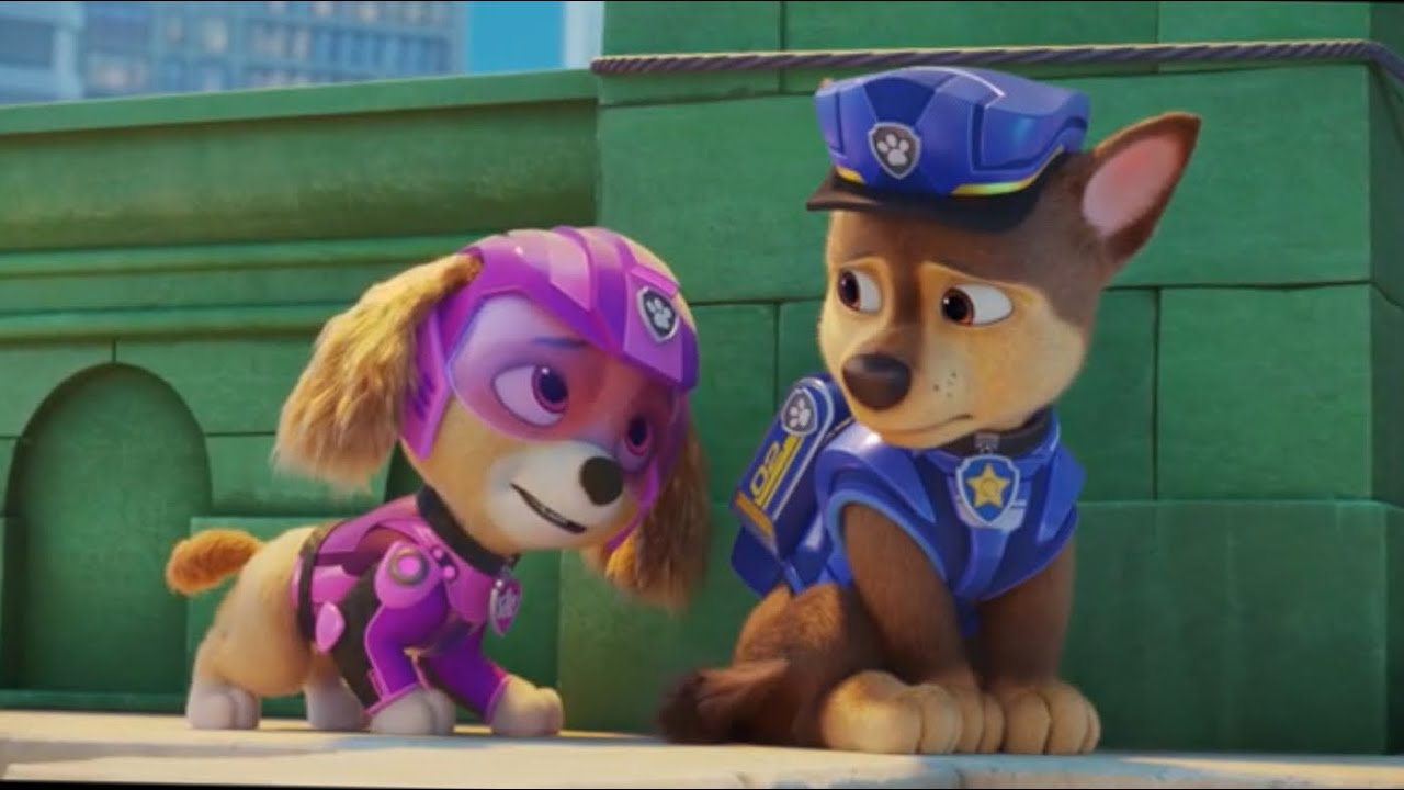Download Paw Patrol The Movie Moments Chase x Skye 💙🐾💖