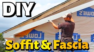 How To  Nstall Soffit And Fascia
