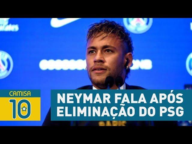 OLHA o que NEYMAR falou após a eliminação do PSG pro REAL!