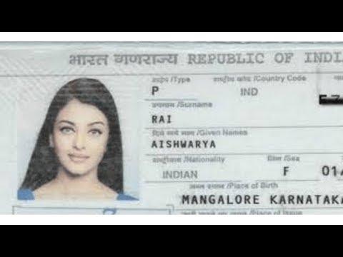 Слайд-шоу: Паспорта известных людей   Mashurlarning pasportlari